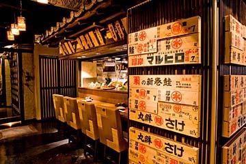 日本の旨い!を楽しむ 炉端焼きとご当地グルメの店 かっこ 仙台西口名掛丁店