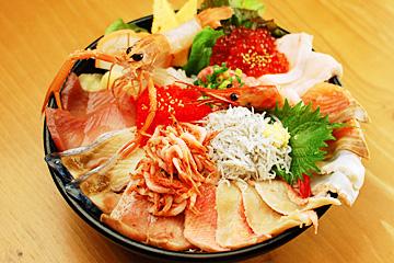 海鮮丼&深海魚料理 DONどこ丼