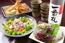 実演手打ちうどん 杵屋 大阪証券取引所店