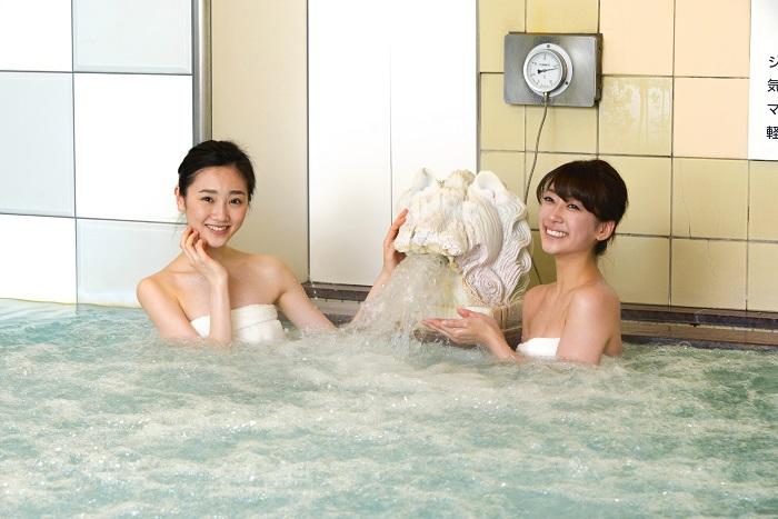 変わり湯やイベント風呂も実施している「バイブラバス」