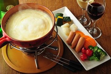 ラクレットチーズ入り濃厚Saチーズフォンデュ