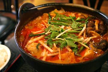 重慶茶楼四川風コラーゲン鍋