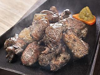 黒さつま鶏 黒焼き