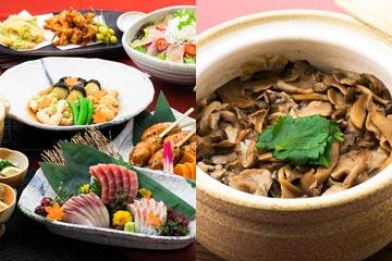 季節の料理と阿波尾鶏を堪能。~泉水コース~