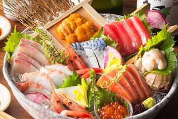 北海道 大漁刺身盛り