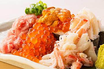 のっけ盛り寿司