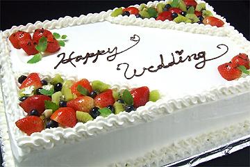 ウエディングケーキ例