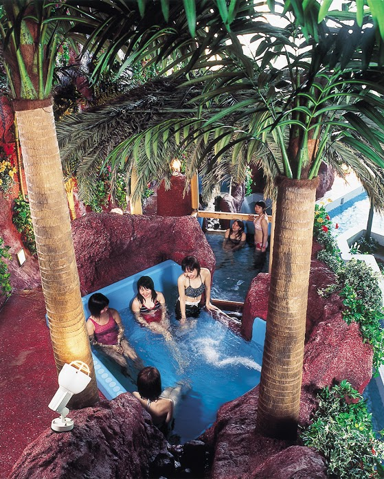 バンブー内風呂