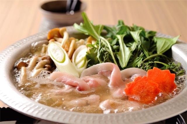 レストラン食事イメージ2(コラーゲン鍋)