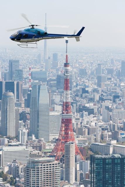 タワー上空イメージ