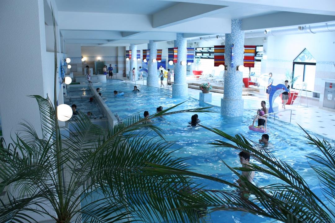 一年中楽しめるのがうれしい「ジャンボ風呂」