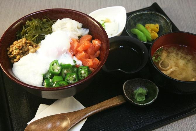 お食事処「心音」の健康増進丼