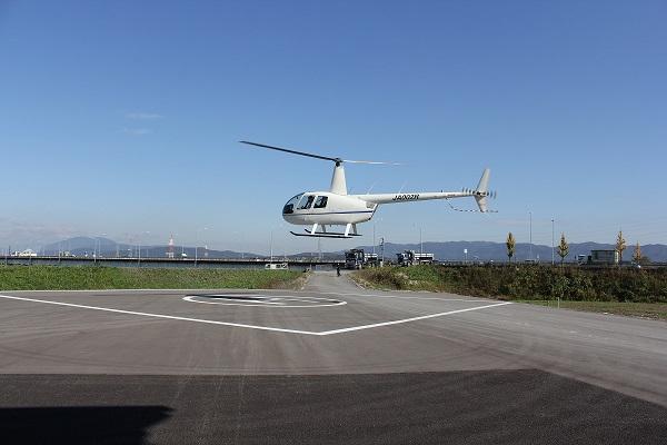 京都の観光名所を上空から楽しむヘリコプター遊覧