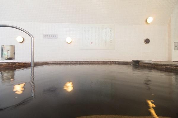 〈カブラヲ温泉〉硫黄分をたっぷり含んだ美白の湯