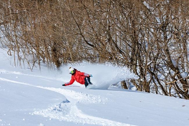 【ノルン水上スキー場】初級から上級コースまで楽しめる多彩なコース☆