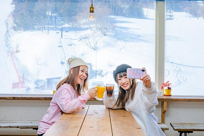 【ノルン水上スキー場】オシャレなレストランやカフェでひと休み☆