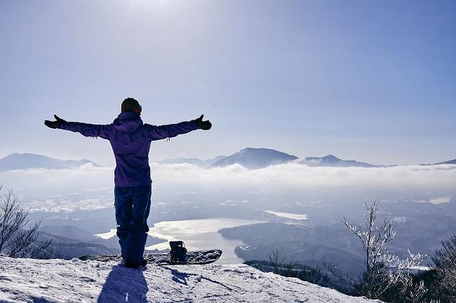 【斑尾高原スキー場】山頂風景