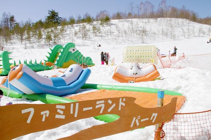 楽しく雪あそび☆ファミリーランドパーク