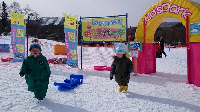 お子様の雪デビューに最適!
