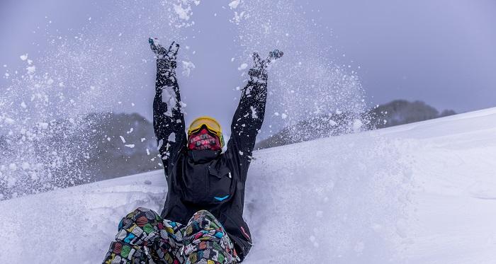 【戸狩温泉スキー場】非圧雪パウダーを満喫☆