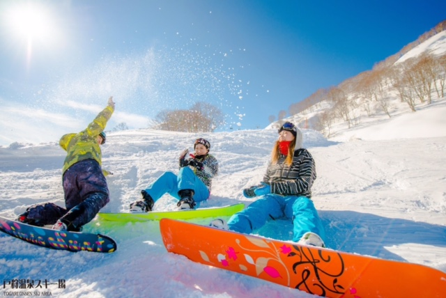 【戸狩温泉スキー場】北信州・戸狩温泉スキー場