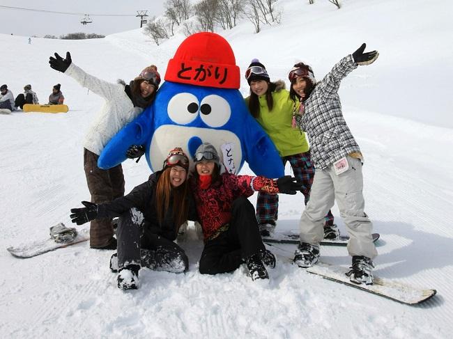 【戸狩温泉スキー場】ファミリー・グループ・カップル皆さまでお越しください!