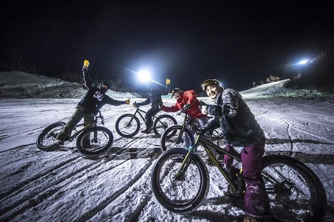 【戸狩温泉スキー場】雪ちゃり
