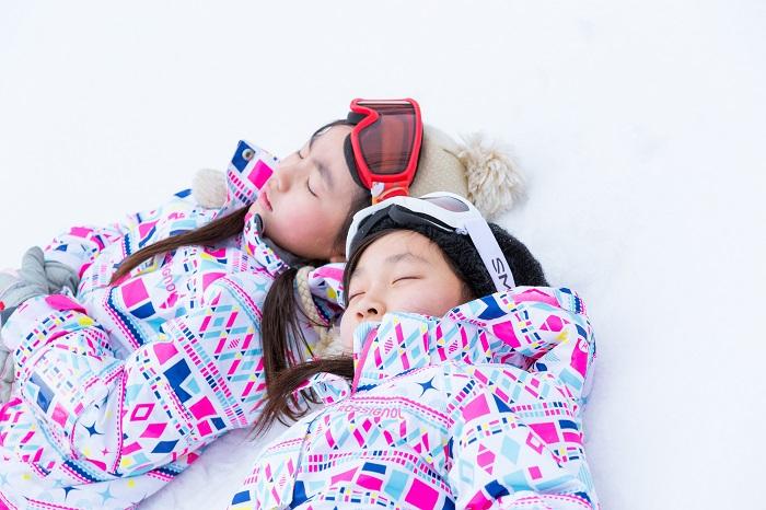 小さなお子さまもたんばらスキーパークで雪遊びを満喫☆