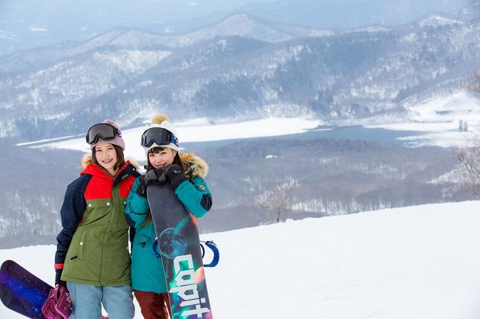雪山ならではの抜群のロケーションは写真映えします♪