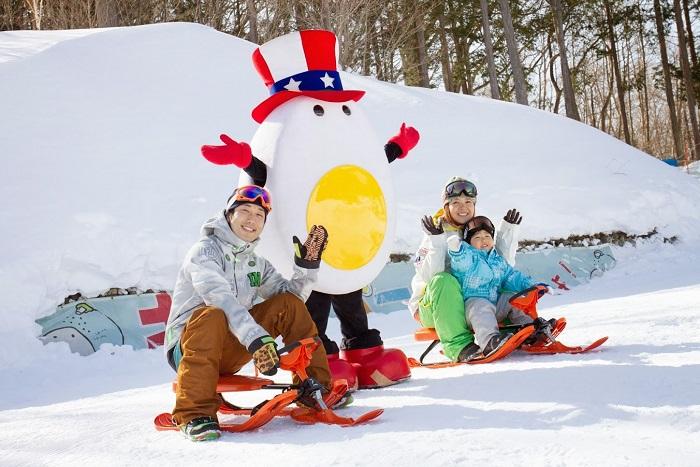雪遊びアイテム・キッズパークも充実!