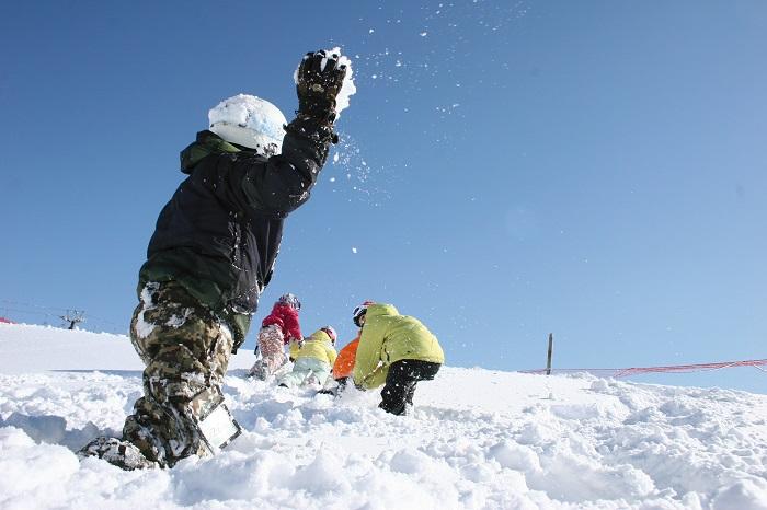 日本最大級の雪の遊び場「ビキッズパーク」