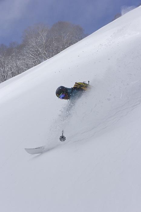 非圧雪エリア