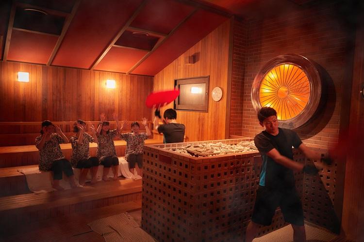 美楽温泉 SPA-HERBS(スパハーブス)岩盤浴 烈炉
