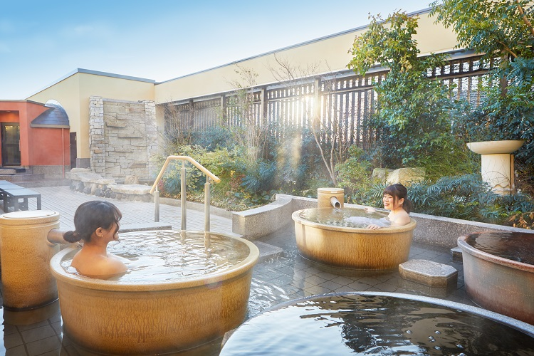 美楽温泉 SPA-HERBS(スパハーブス)壺湯