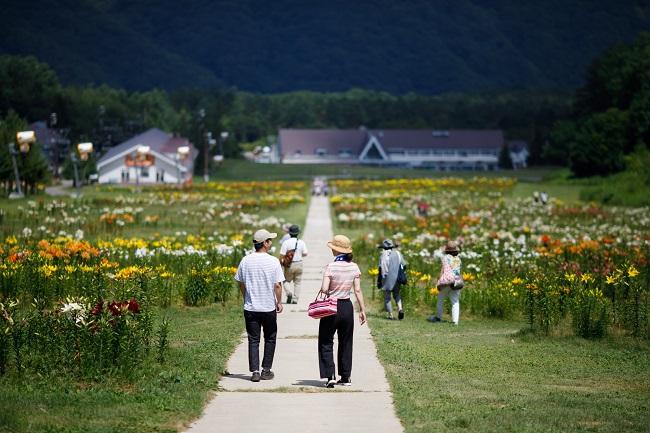【ゆりパーク】散策風景