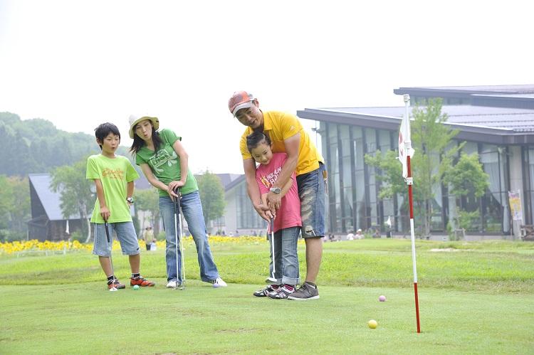 タングラム斑尾 パターゴルフ