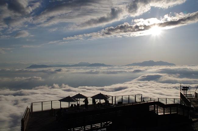 竜王マウンテンパーク 雲海