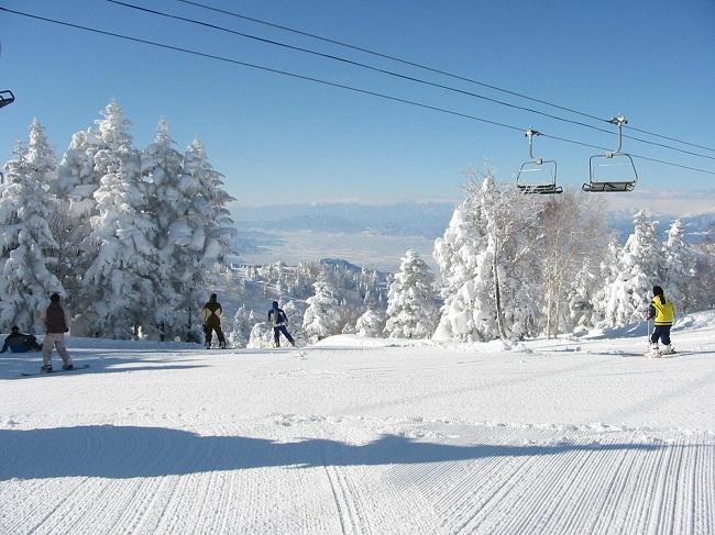 【竜王スキーパーク】スカイランドCコース