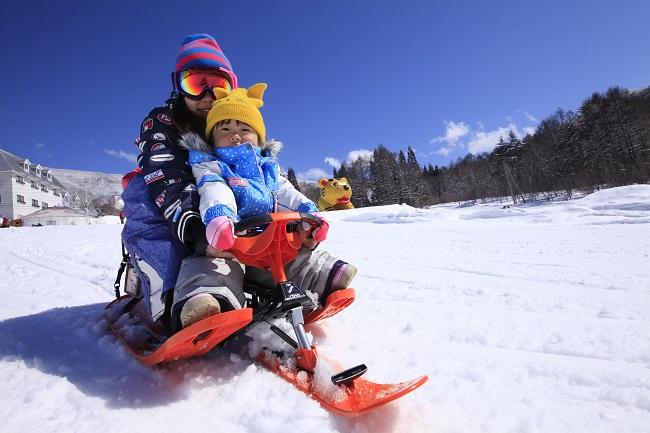 【竜王スキーパーク】スノーレーサー
