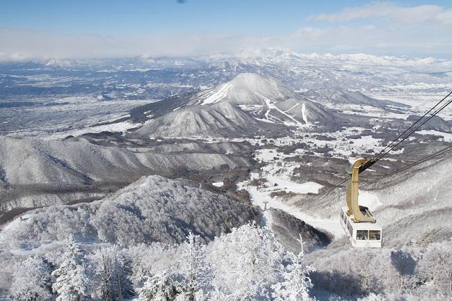 【竜王スキーパーク】世界最大級のロープウェイ