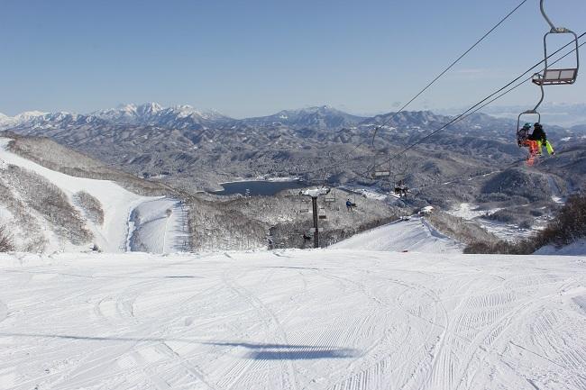 鹿島槍スキー場 絶景ポイント(第5リフト)