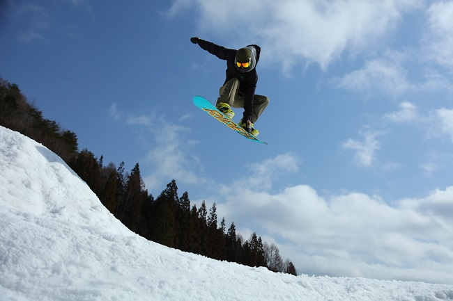 鹿島槍スキー場 『地形で遊びつくせ』