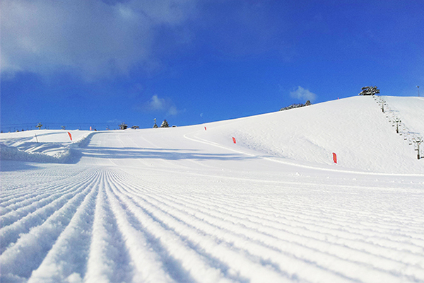 【アップかんなべスキー場】北壁コースゲレンデ