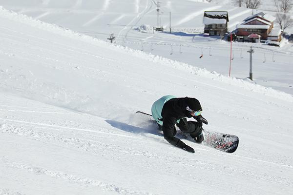 【アップかんなべスキー場】北壁コース
