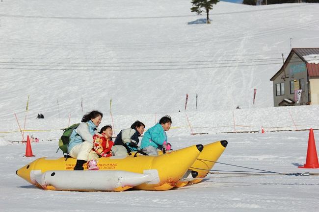 【アップかんなべスキー場】スノーラフティング