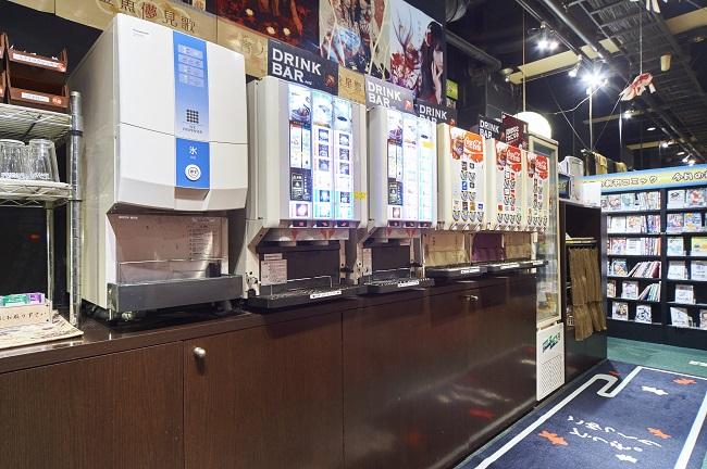 【和Style.Cafe AKIBA】 フリードリンクコーナー