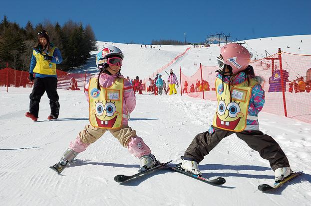 SAJ公認スキースクールは幼児コースからご用意☆
