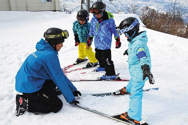 キッズ専門スキースクールも充実