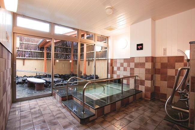 【HATなぎさの湯】福祉風呂内湯