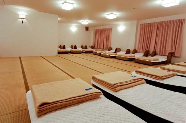 【神戸クアハウス】仮眠室
